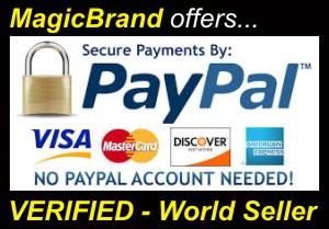 MagicBrand = VERIFIED World Seller