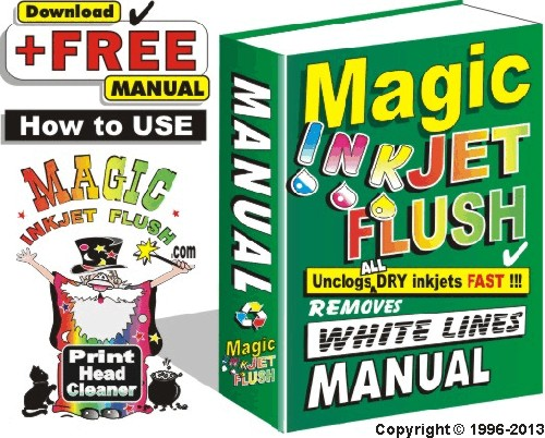 Download FREE!!! Magic Inkjet Flush Manual 100+ Color Photos