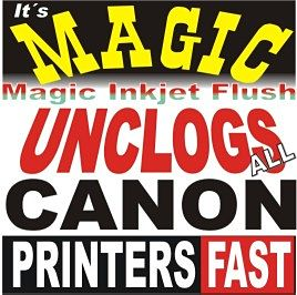 Unclog Canom ink printer printhead cleaner cleaning NEW